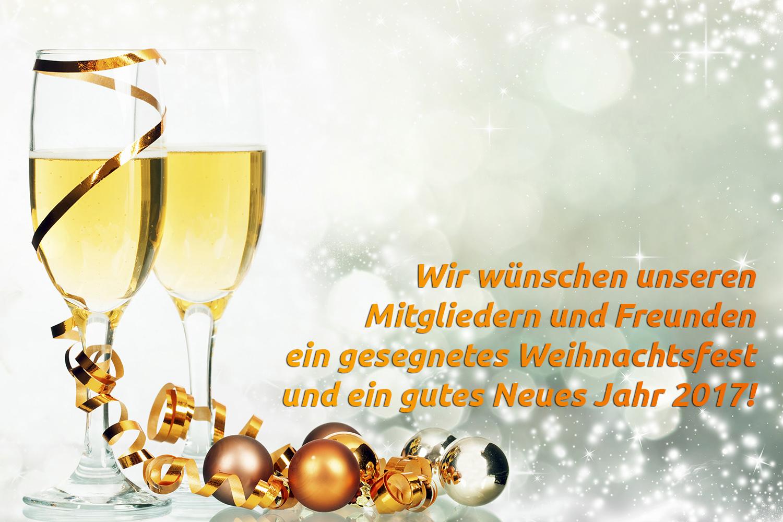 Frohe Weihnachten und alles Gute für 2017 - Bürgerliste Neuhof